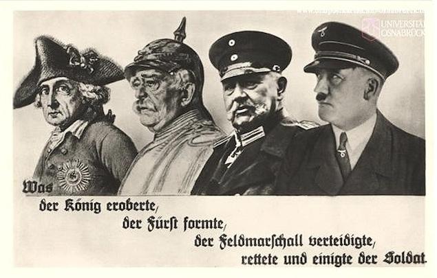 Aufgereiht postkarte aus der historischen sammlung der universität